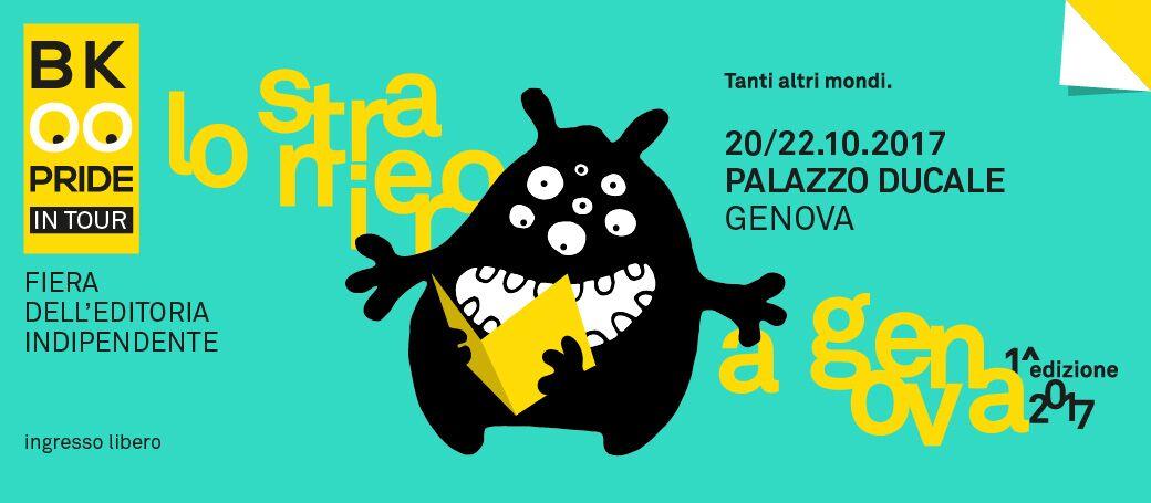 Il Book Pride arriva a Genova