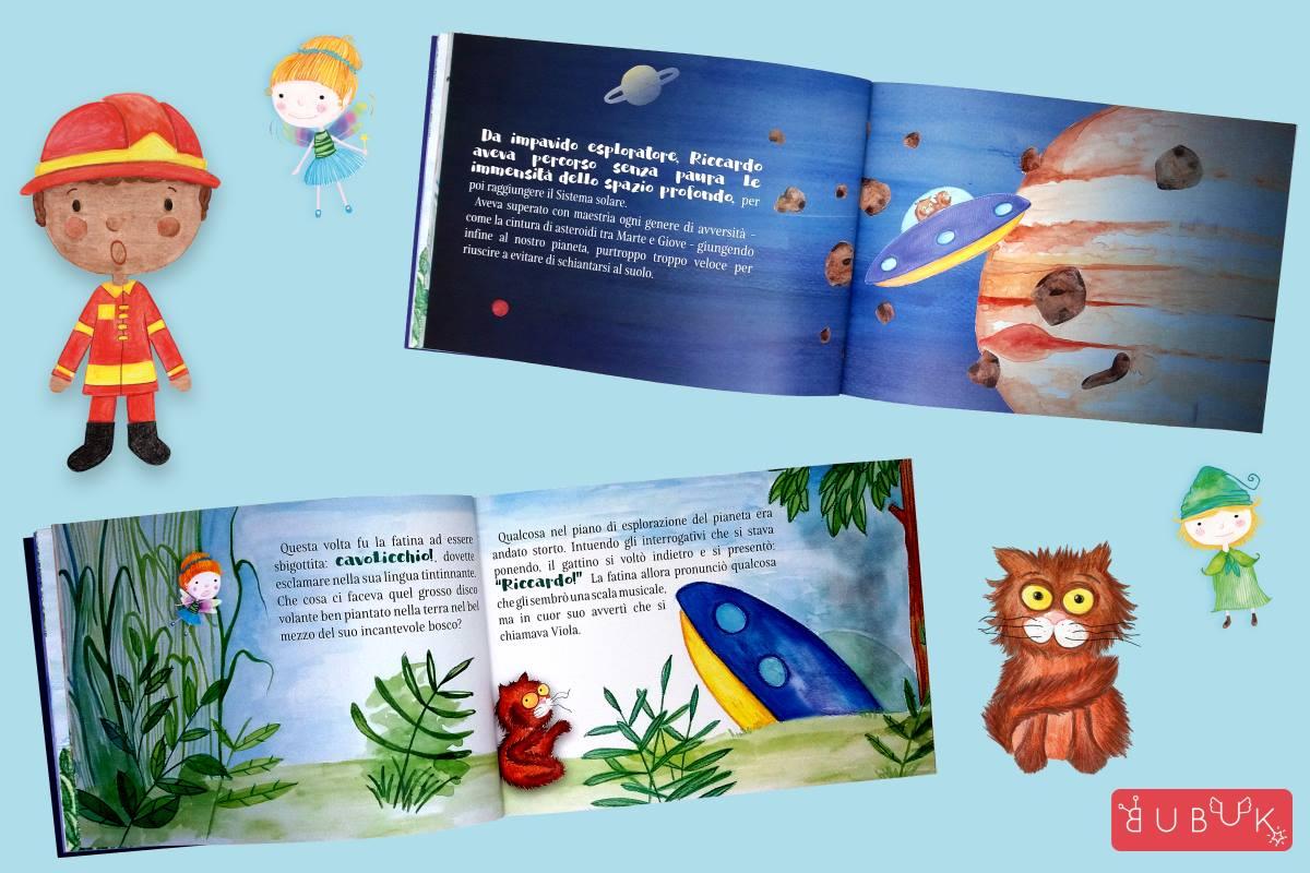 Libri personalizzati per bambini: si può fare