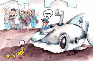 Un sottomarino in paese: una lettura di educazione alla pace